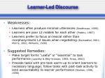learner led discourse5
