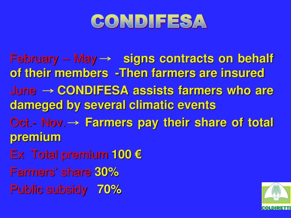 CONDIFESA