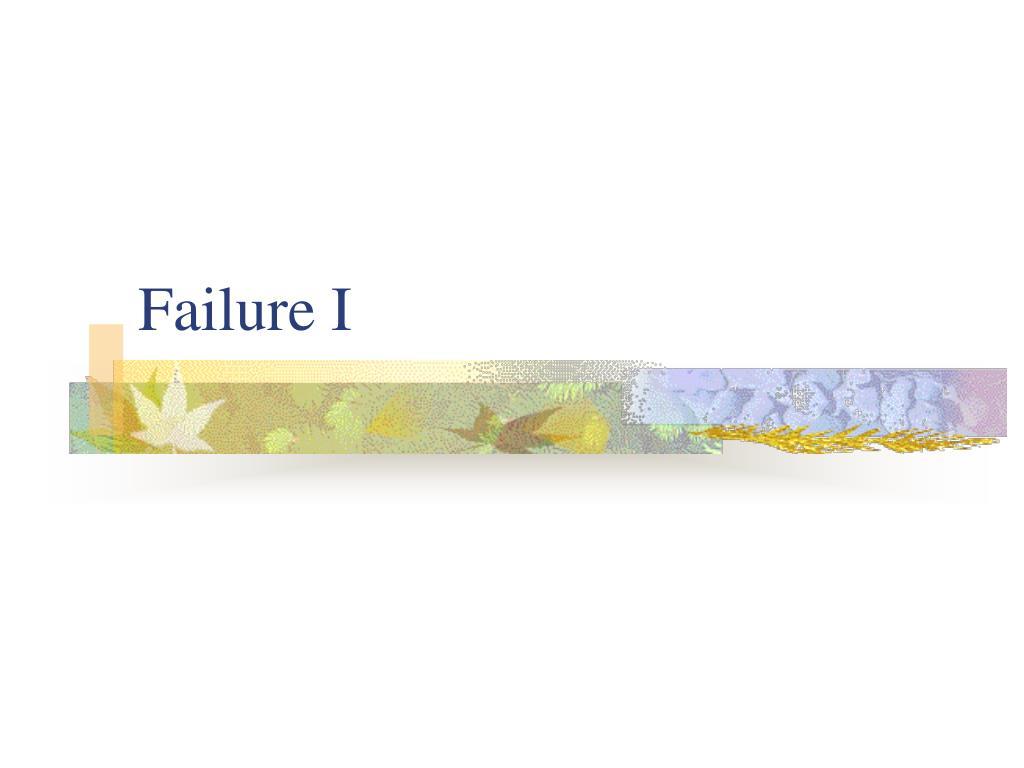 failure i l.
