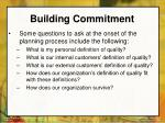 building commitment44
