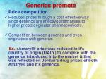 generics promote