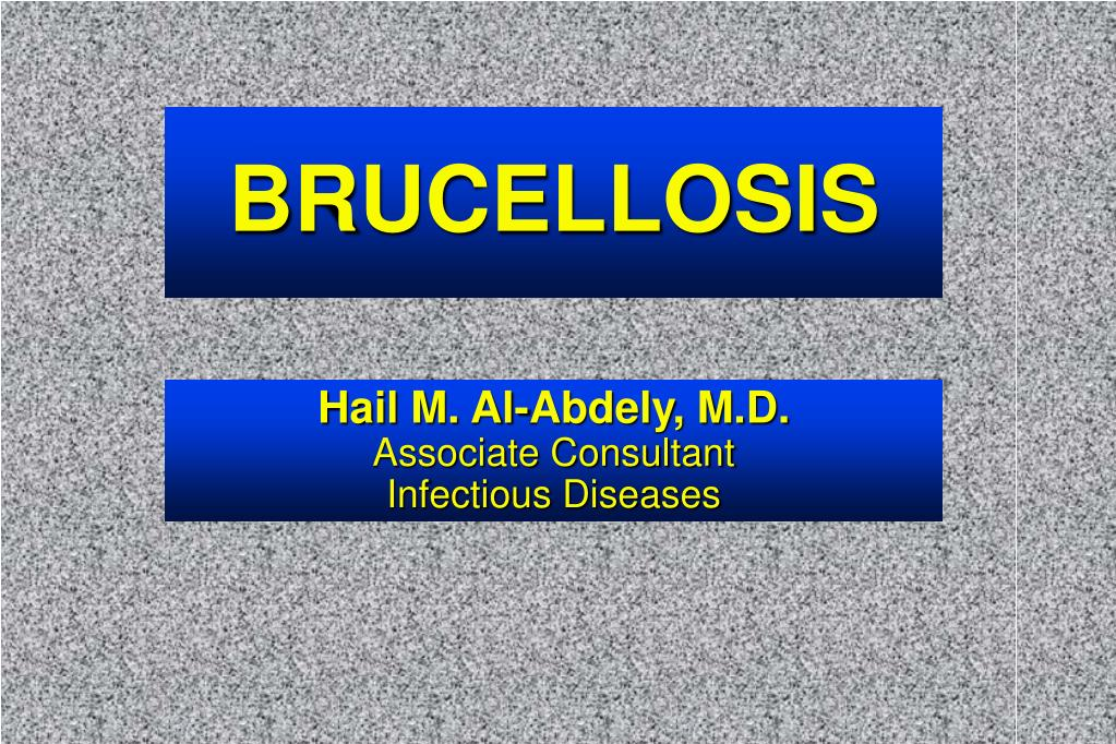 brucellosis l.