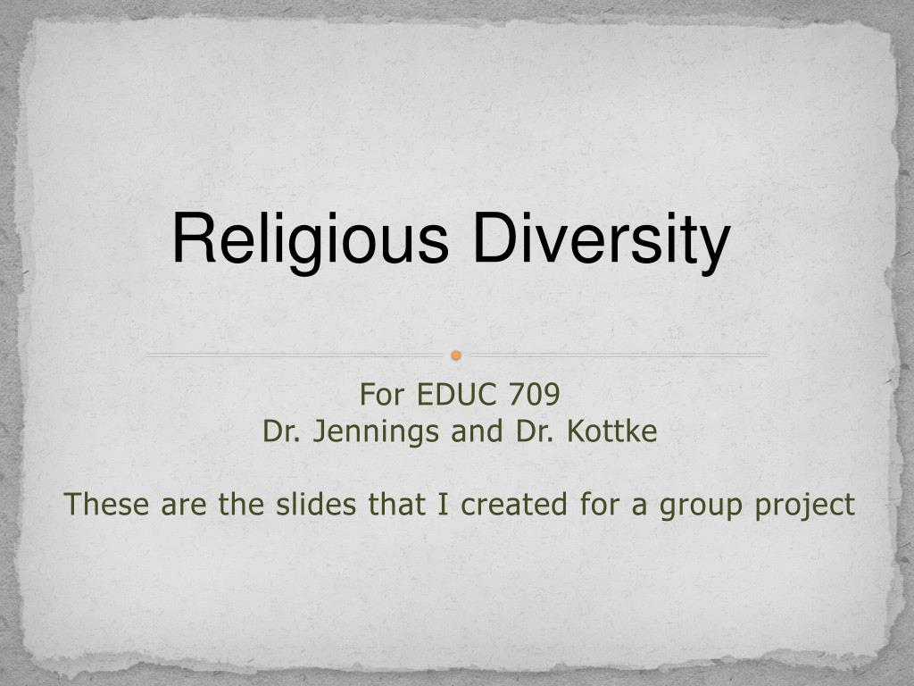 for educ 709 dr jennings and dr kottke these are the slides that i created for a group project l.