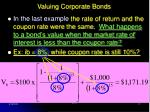 valuing corporate bonds17