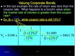 valuing corporate bonds18