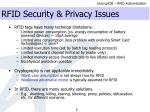 rfid security privacy issues