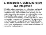 5 immigration multiculturalism and integration