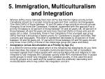 5 immigration multiculturalism and integration25