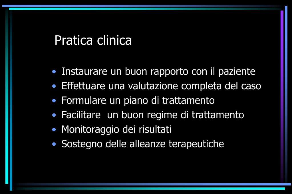 Pratica clinica