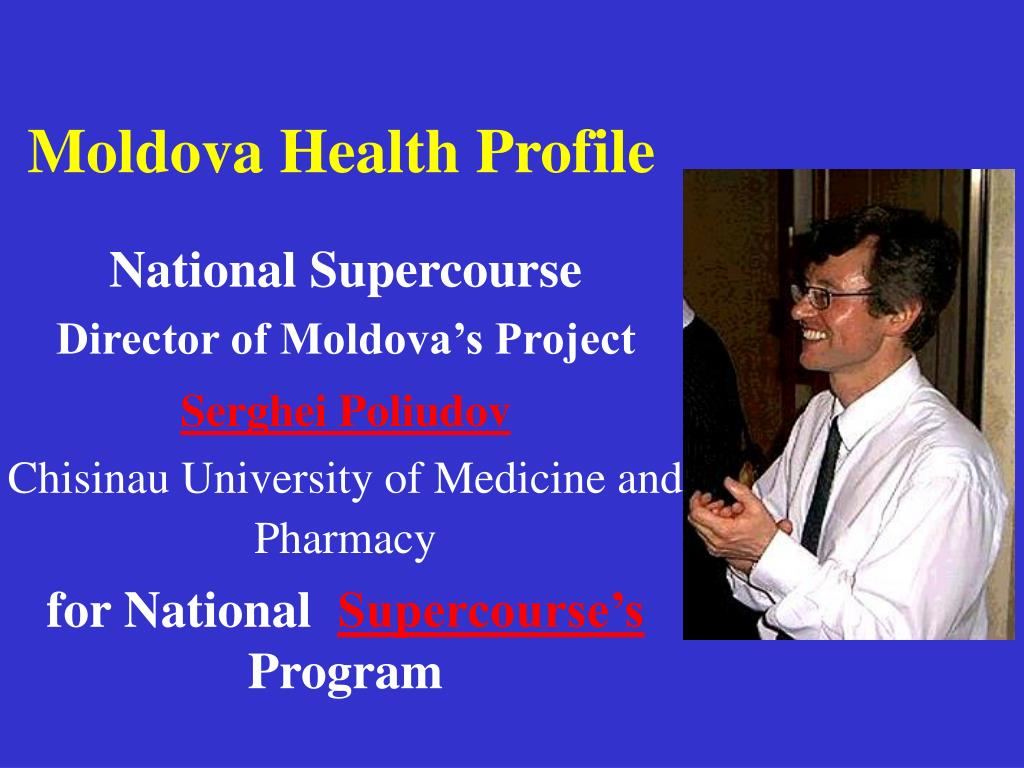 moldova health profile l.