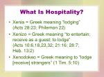 what is hospitality4