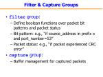 filter capture groups