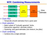 ntp combining measurements
