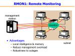 rmon1 remote monitoring