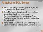 angebot in sql server
