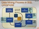 data mining process in sql crisp dm