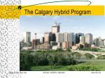 the calgary hybrid program16