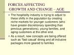 forces affecting growth and change age8
