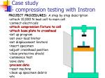 case study compression testing with instron