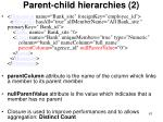 parent child hierarchies 2