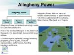 allegheny power