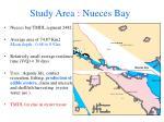 study area nueces bay