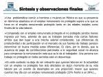 s ntesis y observaciones finales31