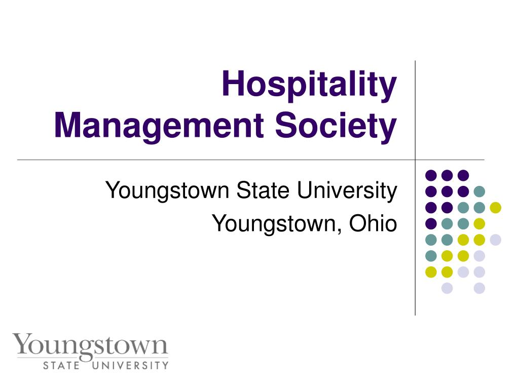 hospitality management society l.