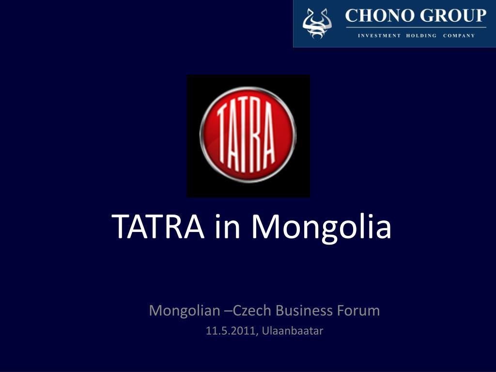 tatra in mongolia l.