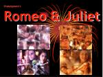 shakespeare s romeo juliet