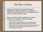 the ritz carlton