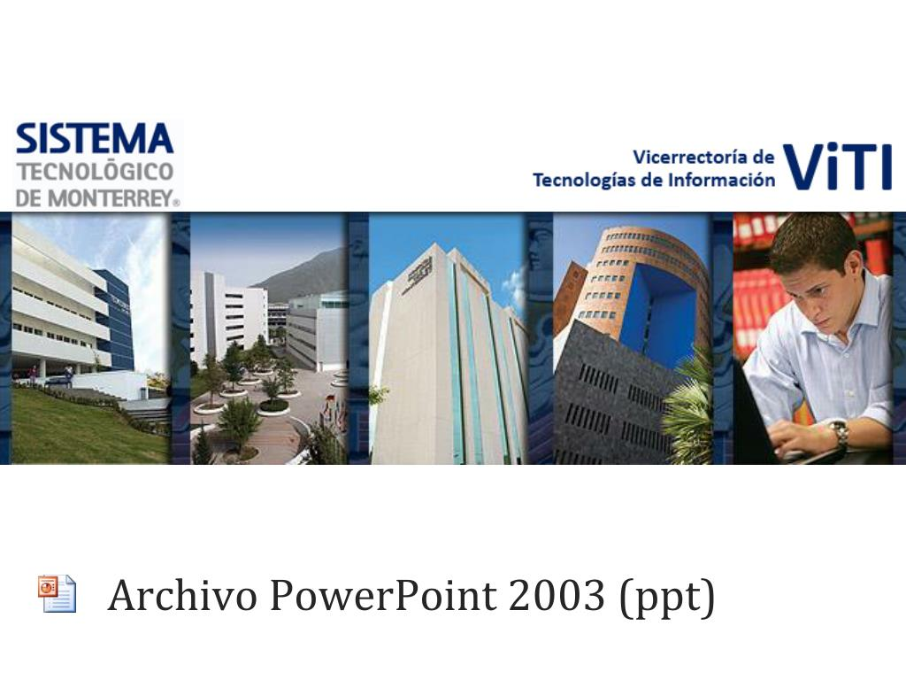 archivo powerpoint 2003 ppt l.