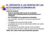 el impuesto a las rentas de las actividades economicas10