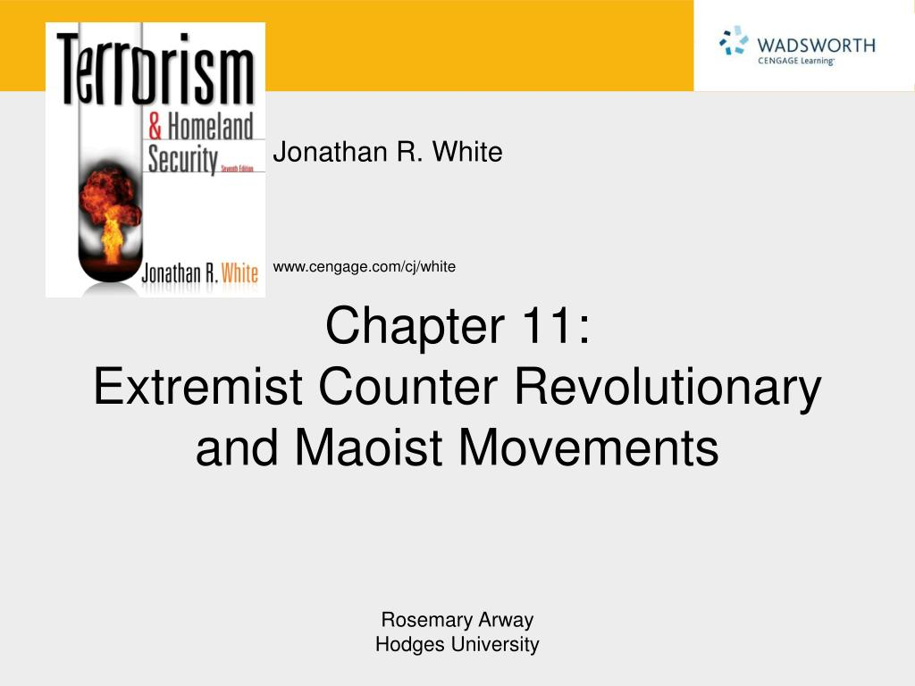 chapter 11 extremist counter revolutionary and maoist movements l.