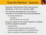 guerrilla warfare guevara
