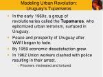 modeling urban revolution uruguay s tupamaros