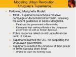 modeling urban revolution uruguay s tupamaros8