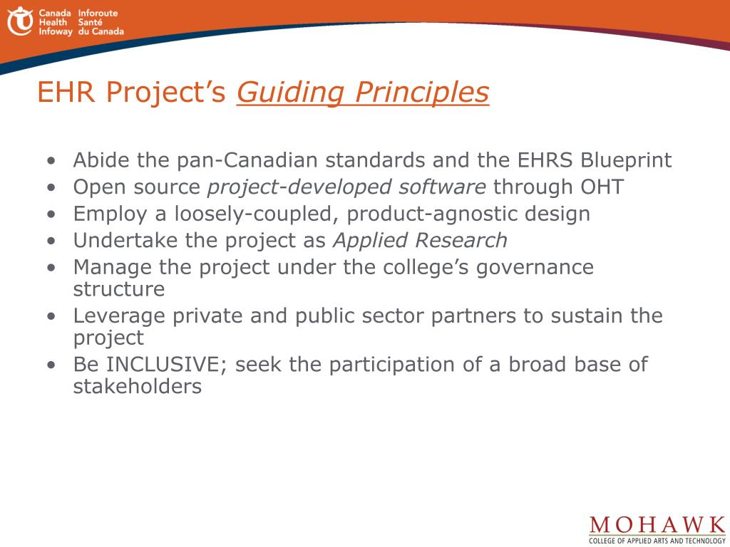 EHR Project's