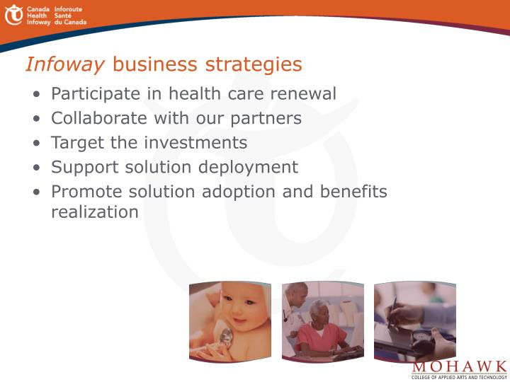 Infoway business strategies