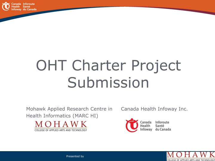 Oht charter project submission