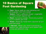 10 basics of square foot gardening43