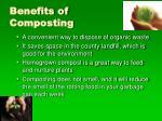 benefits of composting