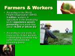 farmers workers