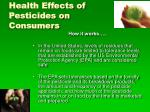 health effects of pesticides on consumers20