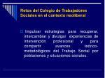 retos del colegio de trabajadores sociales en el contexto neoliberal