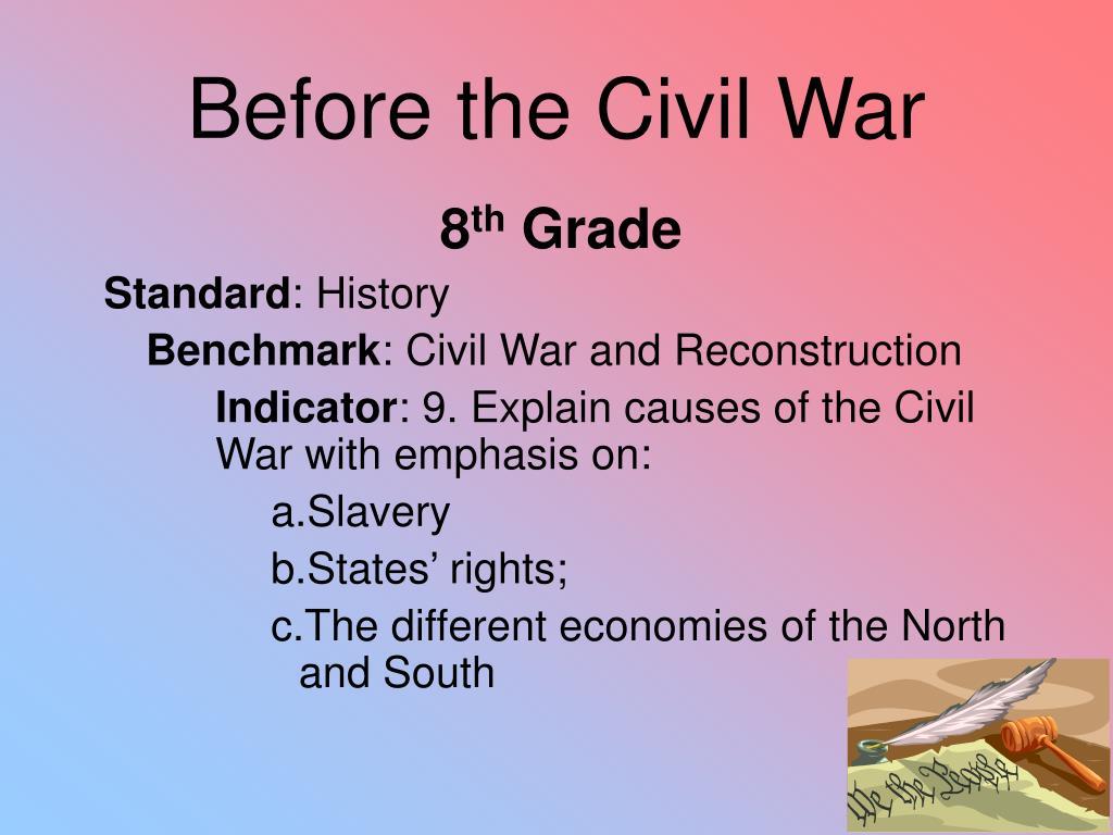 Before the Civil War