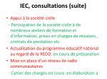 iec consultations suite9