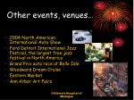 other events venues