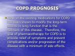 copd prognosis