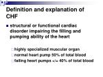 definition and explanation of chf